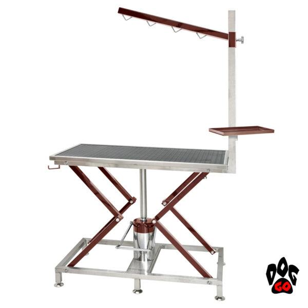 Стол для груминга Iv San Bernard BURGUNDY для стрижки-1
