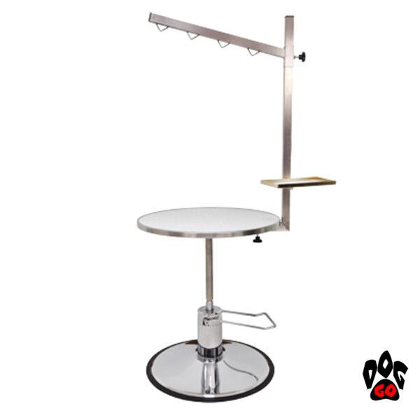 Стол для стрижки собак Iv San Bernard BURGUNDY, круглый-1
