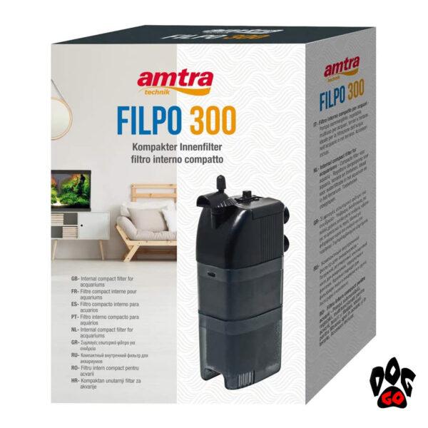 Фильтр для аквариума 120 литров AMTRA Wave FILPO 450 л.час, 6Вт-2