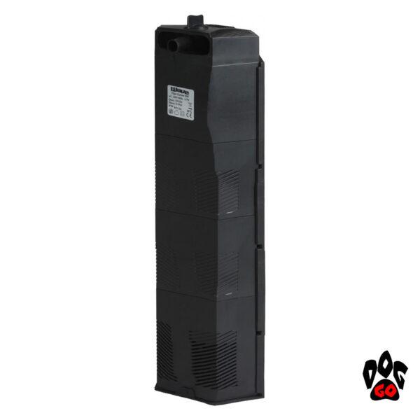 Угловой внутренний фильтр для аквариума 60-100 литров AMTRA Wave FILPO TRIPLE 9х9хh32см, 530л.час, 2.5Вт-1