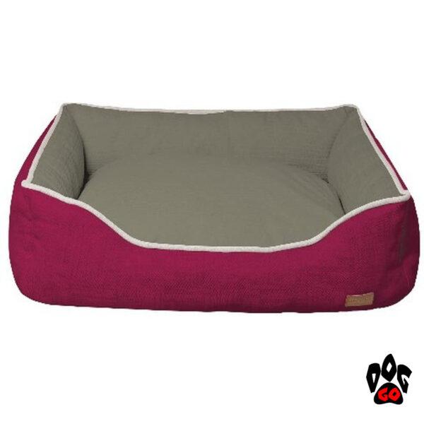 CROCI Диван для животных Cozy Fuxia, прямоугольный, розово-серый-1