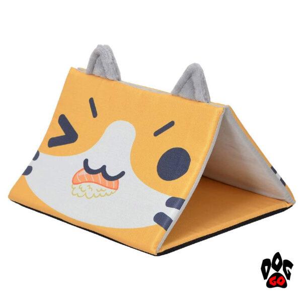CROCI Домик для кошки, собаки Pyramide Catmania, 45x45x33см-1