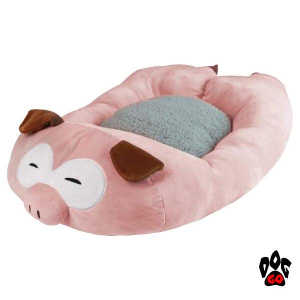 CROCI Спальное место для собаки Fluffy Pig, 75х45см-1