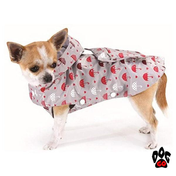 Дождевик для собак CROCI GREY UMBRELLAS-1