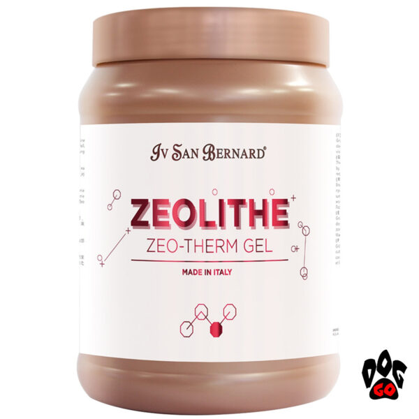 Iv San Bernard Zeo Therm Gel от воспаления кожи у собак, детоксикация и защита, 1л-1