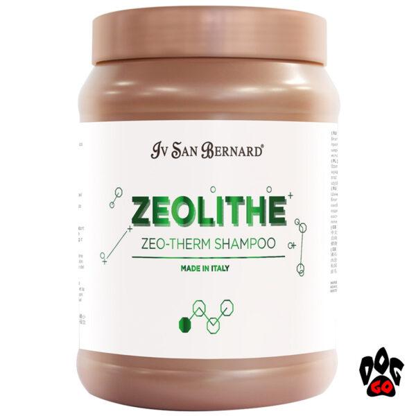 Iv San Bernard Zeo-Therm Shampoo Профессиональный шампунь для собак, мягкая очистка, антиоксидантное действие, 1л-1