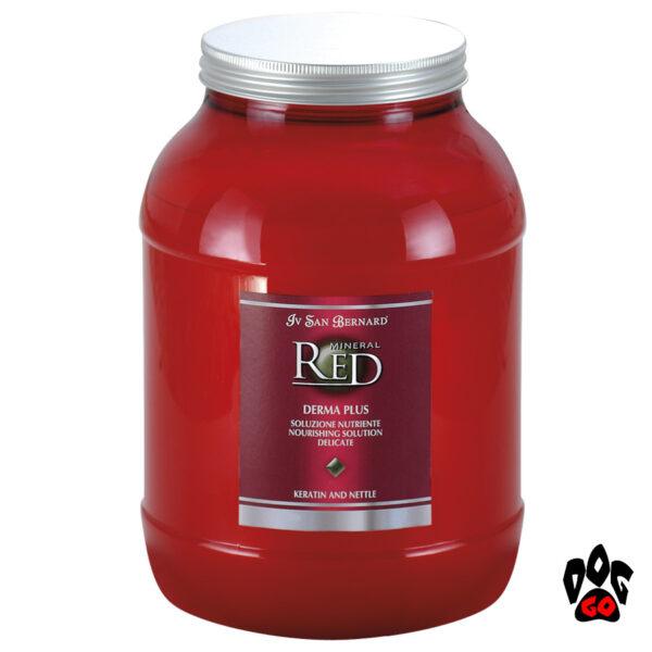 Кондиционер-концентрат для собак Iv San Bernard Derma Plus с кератином и крапивой, бережное питание кожи, 300мл-3л-1
