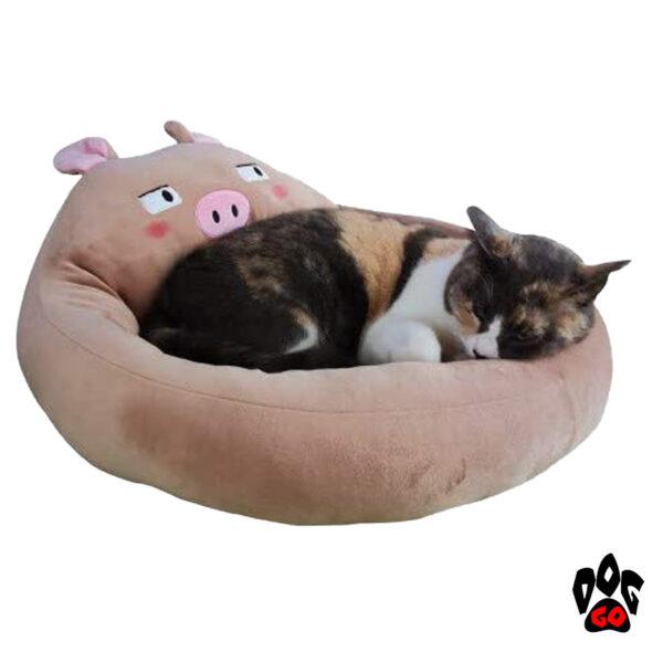 Лежак для собак CROCI Fluffy Doubt Pig, 40х25см-2