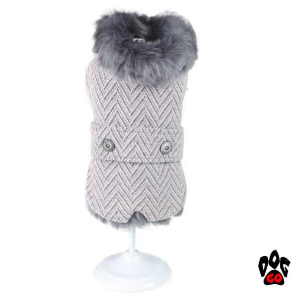 CROCI Меховая одежда для собак DESIRE, утепленная-1