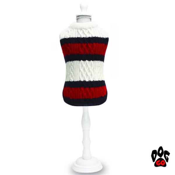 CROCI Вязаный свитер для собаки STREET DANDY, шерсть-1