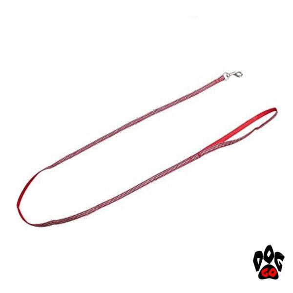 Комплект ошейник и поводок для кошек и собак CROCI MINI PICNIC, с колокольчиком, нейлон, 16-24х0,8см / 0,8х120см-2