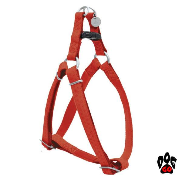 Мягкая шлейка для собак CROCI MYLORD с тиснением, кожзам-5