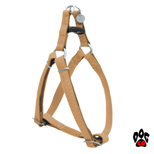 Мягкая шлейка для собак CROCI MYLORD с тиснением, кожзам-6
