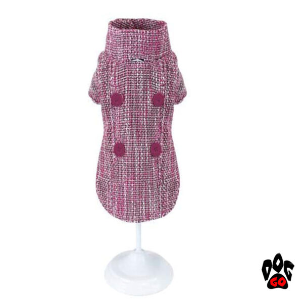 Пальто для собак CROCI PINKY TWEED-1