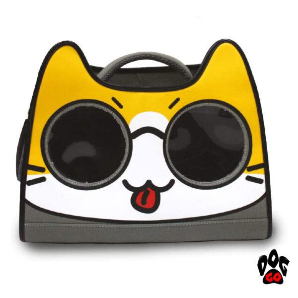 Рюкзак для котов путешественников CROCI Catmania Tomodachi, 40x20x36см, до 10кг-1