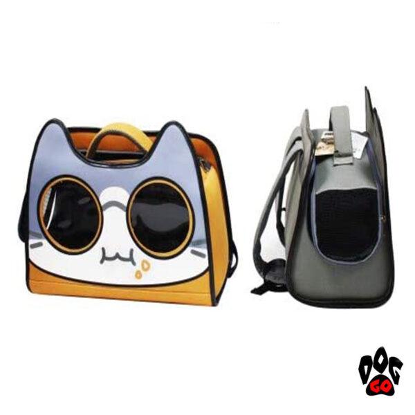 Рюкзак для котов путешественников CROCI Catmania Tomodachi, 40x20x36см, до 10кг-2