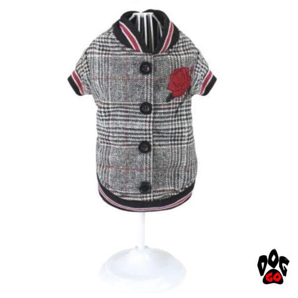 Теплая куртка для собаки CROCI ROSE-1