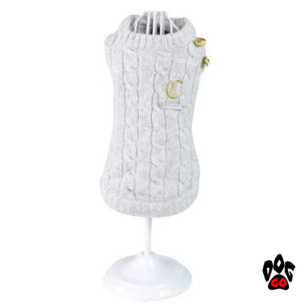 Вязаный свитер для собаки CROCI HERITAGE-1