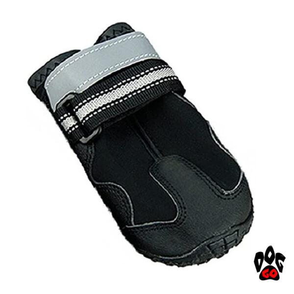 Зимняя обувь для собак CROCI HIKING треккинговая, плотная подошва, черные