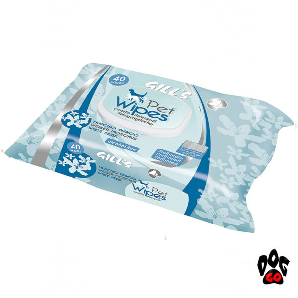 Гигиенические салфетки для собак и кошек CROCI GILL'S, 40шт в уп-3