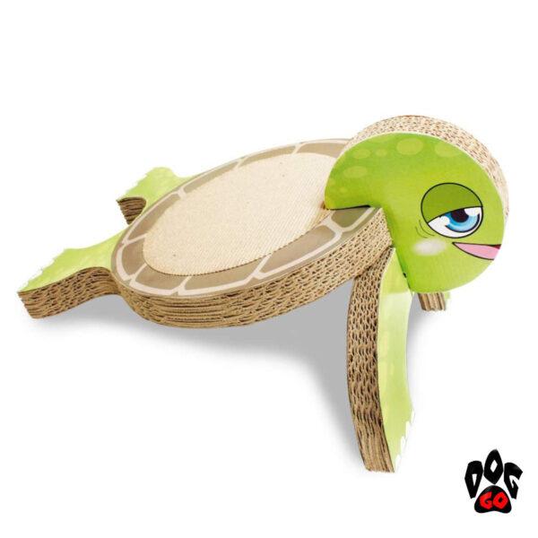 Когтеточка из гофрированного картона CROCI Черепаха, 26x36x20см-1