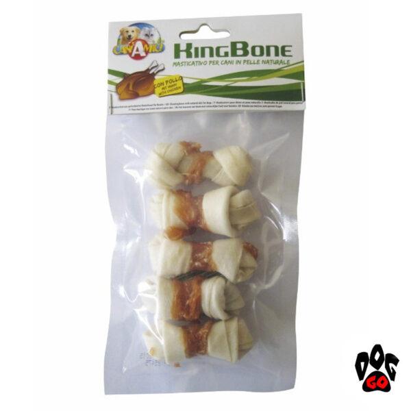 Кости из прессованных жил для собак CROCI KingBone узловые (10, 30, 45, 60, 110г)-3