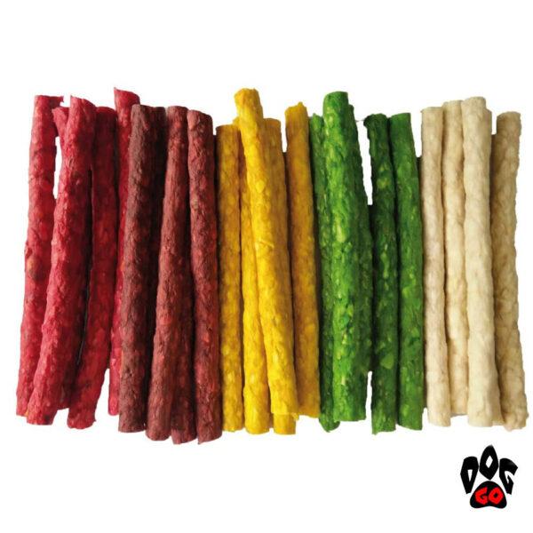 Палочки для чистки зубов собак CROCI MIX, цветные (12.5-13 см)-3