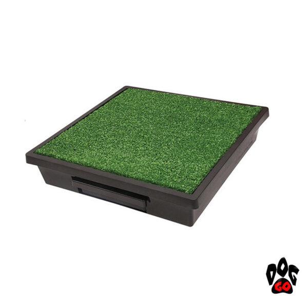 Портативный туалет для собак PetSafe Pet Loo CROCI, имитация травы-1