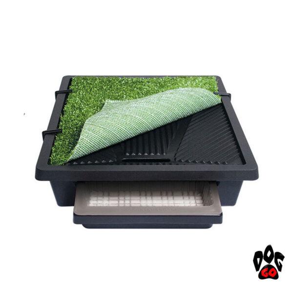 Портативный туалет для собак PetSafe Pet Loo CROCI, имитация травы-2