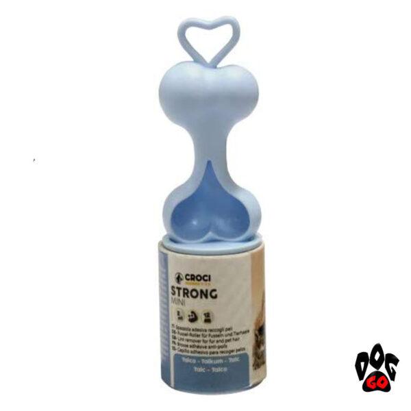 Ролик для удаления шерсти CROCI с ароматом талька, мини, 10м, 60мм-1