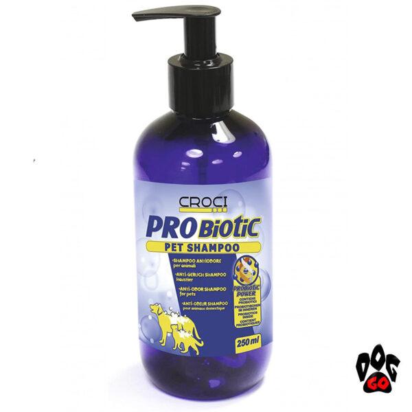Шампунь для кошек и собак от запаха PROBIOTIC CROCI, 250мл-1