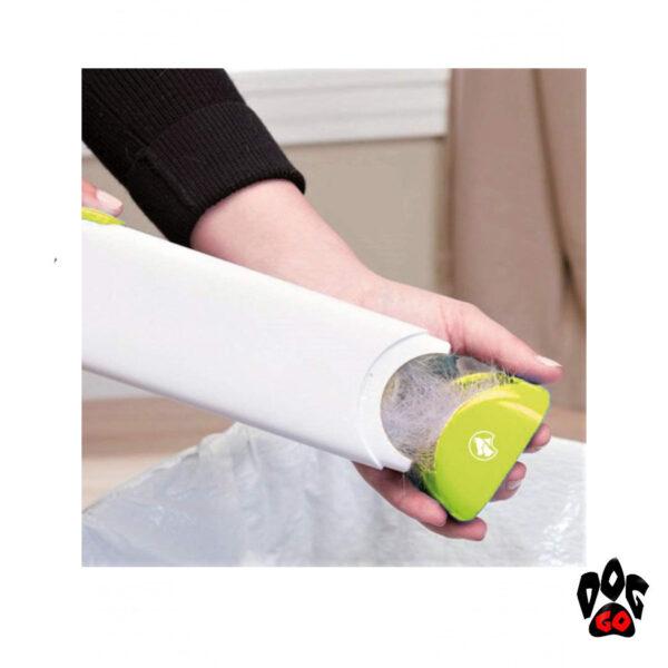 Щетка для чистки от шерсти животных CROCI (набор) 7х4х33см и 6х14х6см-3