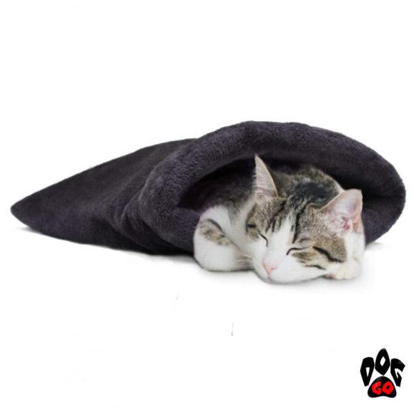 Спальный мешок для собаки и кота CROCI FURRY, самонагревающийся 60*36 см-1