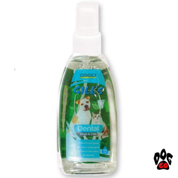 Спрей для полости рта собак и кошек GILL'S CROCI, 100мл-1