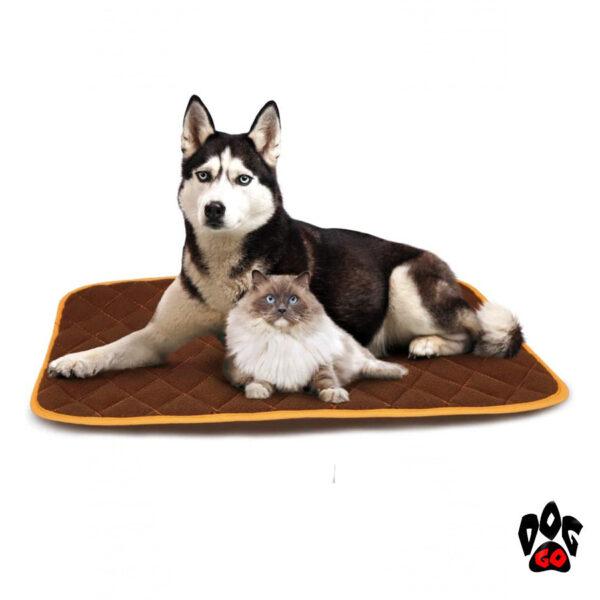 Термоковрик для собак и кошек CROCI THERMO (56х35, 79х53, 110х72см)-1