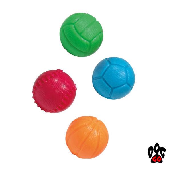CROCI Игрушка для собак Мяч Спорт, резина, Д=6.5см-1