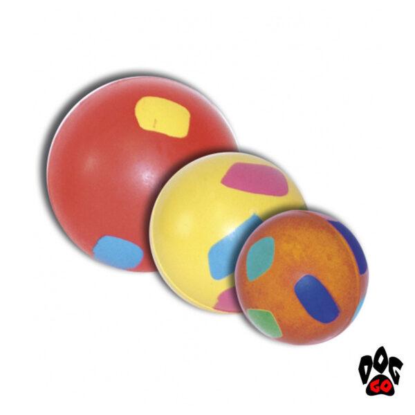 Игрушка для чистки зубов собак CROCI Мяч литой, резина, 5см-1
