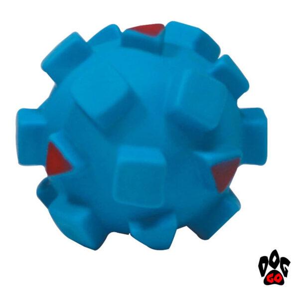 Игрушка для собак Мяч с квадратами CROCI, винил, 9см-4