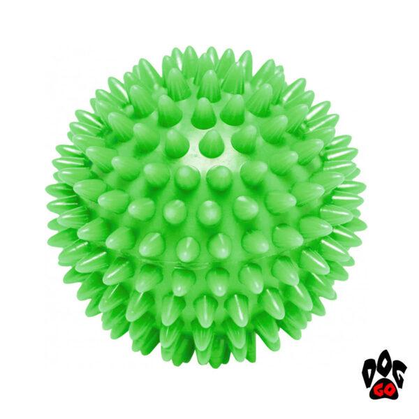 Игрушка для собак Спайкибол CROCI GLOW, люминесцентный, высокопрочная резина, 9см-2