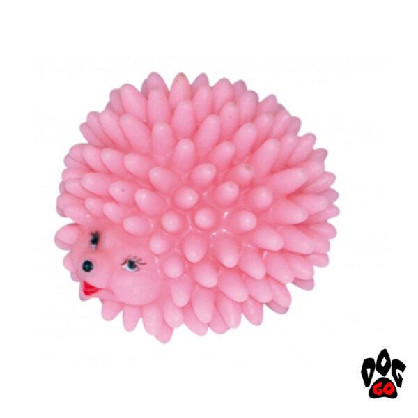 Игрушка для собаки Ёжик, пищалка CROCI, винил, Д=7,5см-1