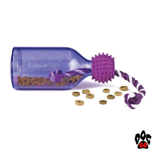 Игрушка-кормушка для собак PETSAFE Бутылка CROCI, литая резина, 16см-1