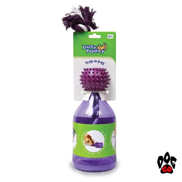 Игрушка-кормушка для собак PETSAFE Бутылка CROCI, литая резина, 16см-2