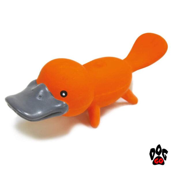 Игрушки-пищалки для собак CROCI Утконосы, винил, 19см-3