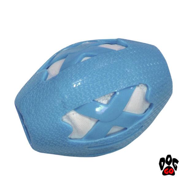 Мяч регби для собак CROCI CATCHER, резина, 14см-1