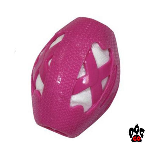 Мяч регби для собак CROCI CATCHER, резина, 14см-2