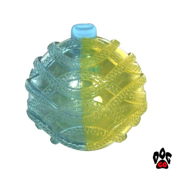 Резиновый мячик для собак CROCI MUTE&LOUD, 8.5см-2