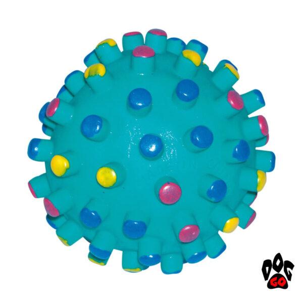Виниловый мяч-пищалка Мина для собак CROCI, Д=9см-1