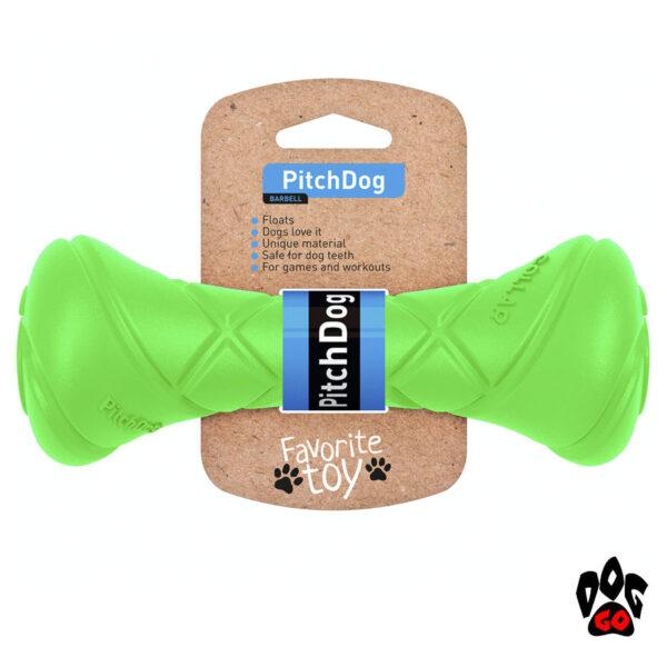 Апортировочная гантель для собаки COLLAR PitchDog, 19см, d7см-7