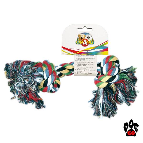 Канатные игрушки для собак CROCI грейфер, 2 узла-1
