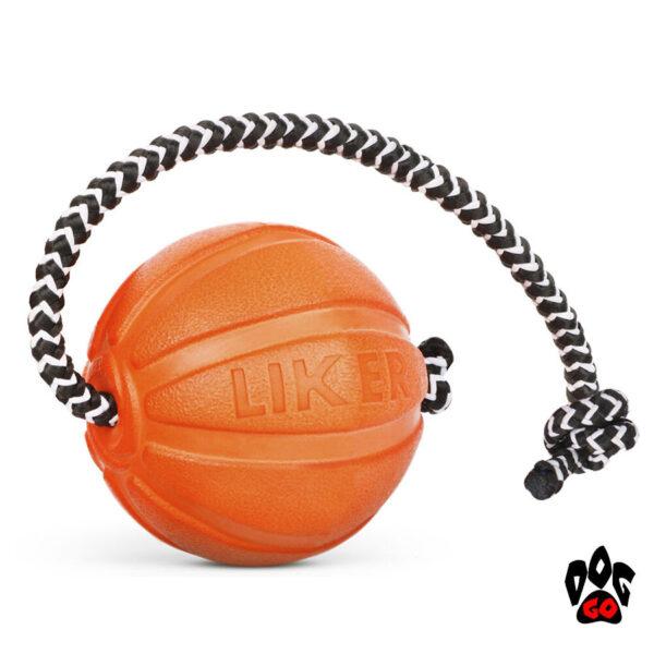 Лайкер игрушка для собак, на веревке COLLAR Корд на шнуре-1